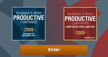 Romania's most productive companies 2009