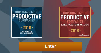 Romania's most productive companies 2010
