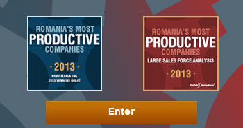 Romania's most productive companies 2013